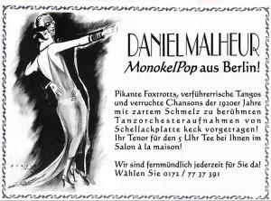 Salontenor Daniel Malheur