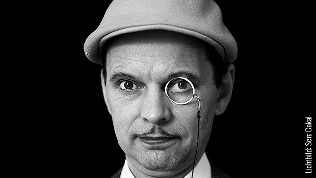 Salontenor Daniel Malheur - 20er Jahre Sänger der MonokelPop Entertainment Berlin